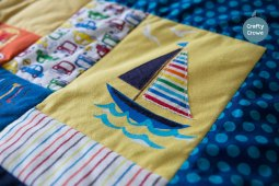 Bold and bright with a nautical theme